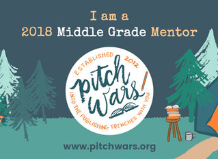 I'm a Pitch Wars mentor this year! (Or how I learned to resurrect my dying blog)