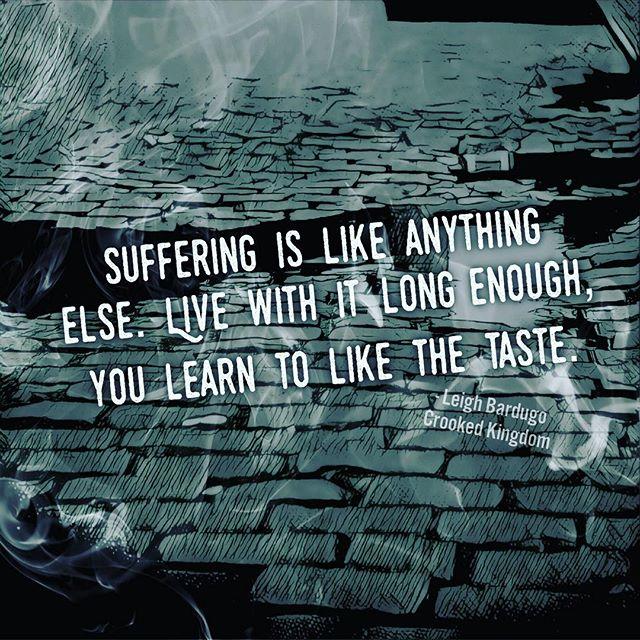 Like the Taste of Suffering