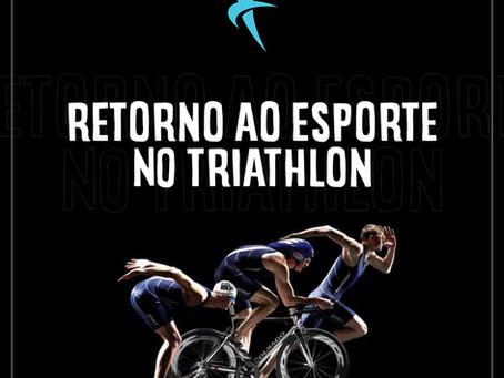 Nada, pedala e corre: retorno ao esporte no Triathlon