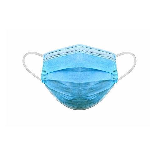 Mascarilla higienica azul 3 capas