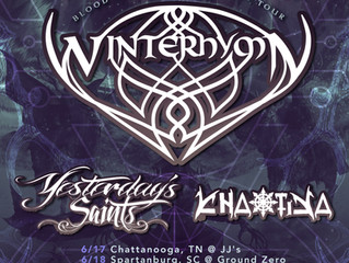 Winterhymn announces 2016 East Coast Tour