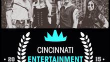 Winterhymn nominated for a 2015 Cincinnati Entertainment Award