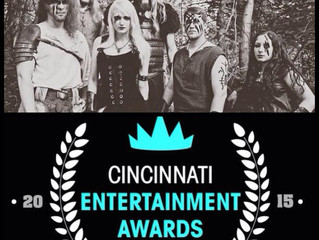 Winterhymn nominated for a 2015 Cincinnati Entertainment Award