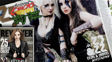 "Exura & Umbriel in REVOLVER's annual ""25 Hottest Chicks in Hard Rock & Heavy Metal&"