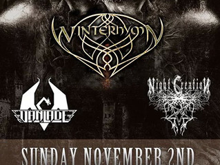 Nov 2nd / Starkill + Winterhymn / Kansas City, MO @ Riot Room