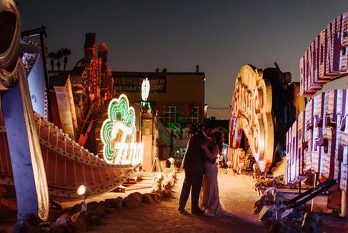 Las Vegas Wedding Planner Symphony Neon Museum
