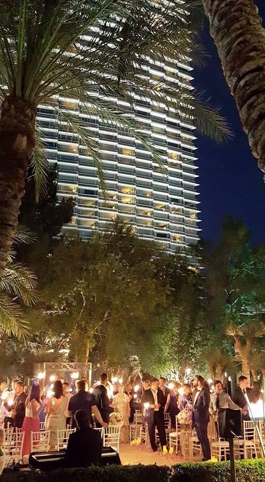 Las Vegas Wedding Planner Aria Resort