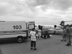 International air ambulance