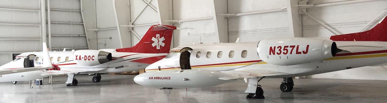 ambulancia aerea california