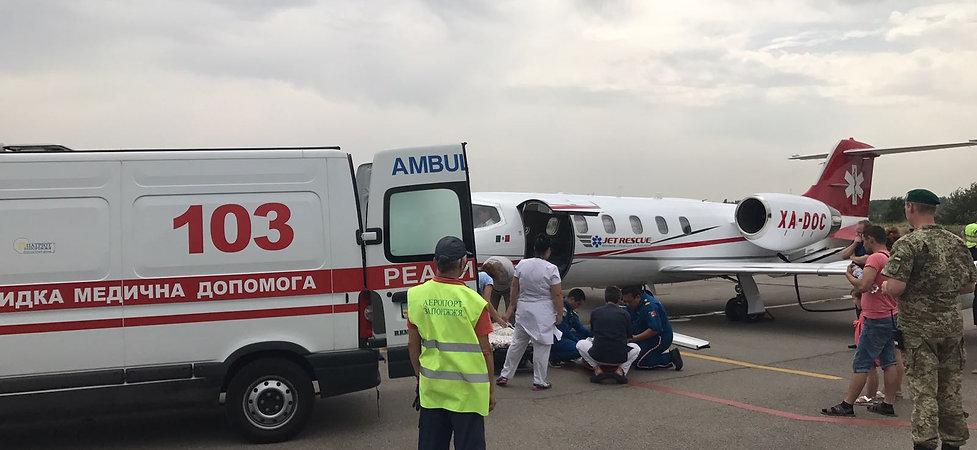 ambulancia aerea internacional