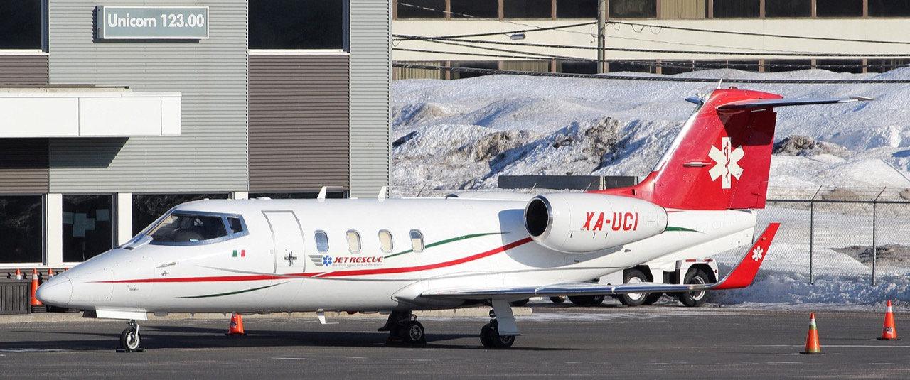 ambulancias aereas mexico
