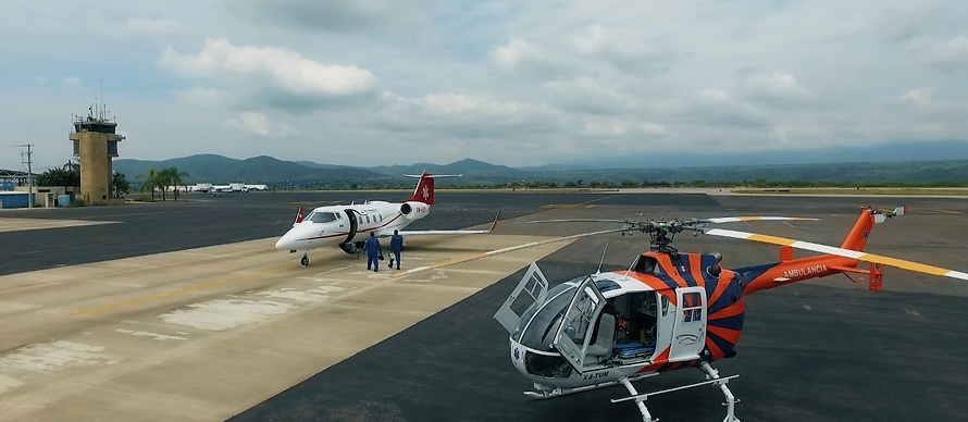 Air ambulance Company in Mexico