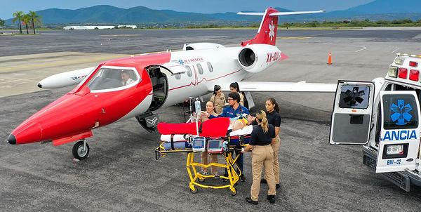 jet rescue ambulacias aereas