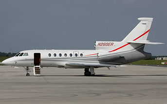 Falcon 50 Medical Jet