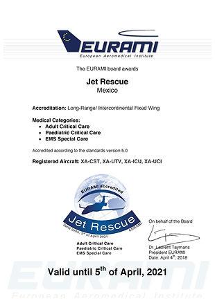 eurami jet Rescue