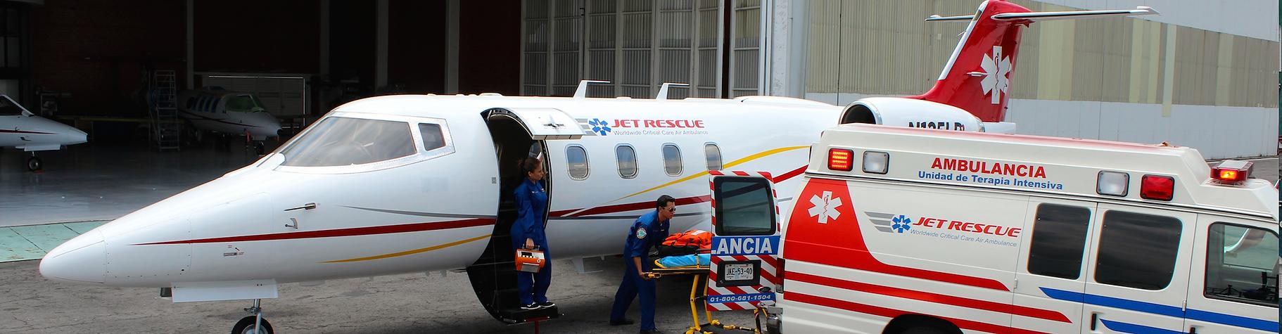 Ambulancia aerea guadalajara