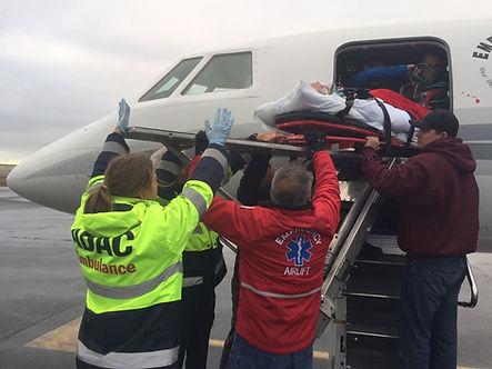 Falcon 50 Jet Rescue air ambulance