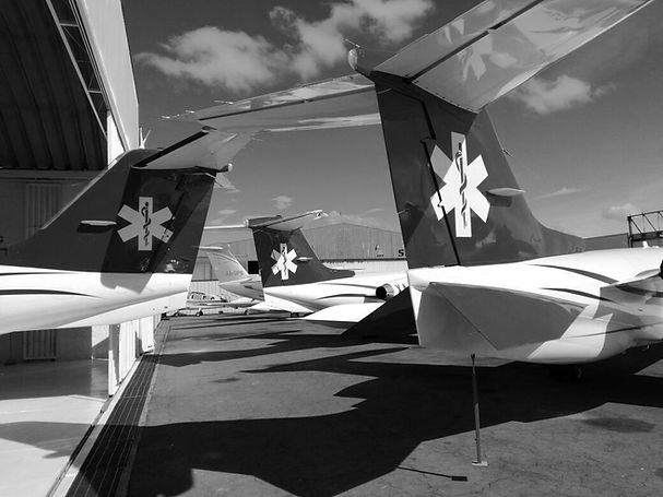Jet Rescue air ambulance Fleet of medical jets