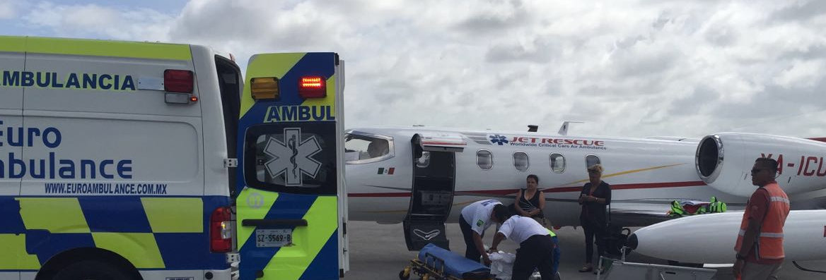 ambulancias aereas cancun