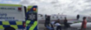 ambulancias aereas cancun