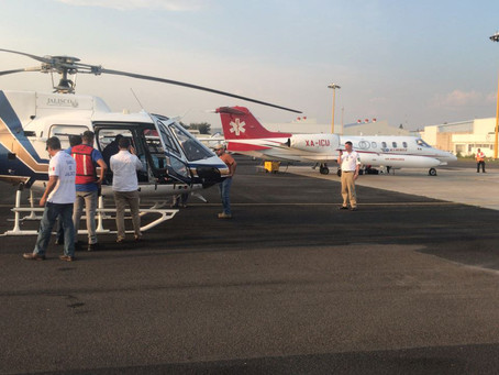 Jet Rescue Donates Life-Saving Air Ambulance Flight From Mexico to Texas