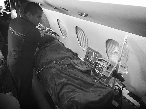 ambulancia aerea  Miami
