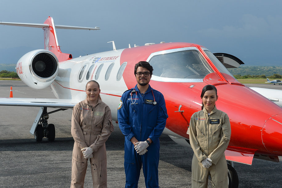 air ambulance crew