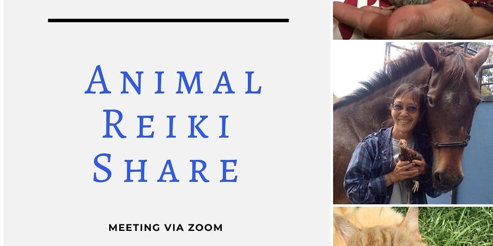 Animal Reiki Share