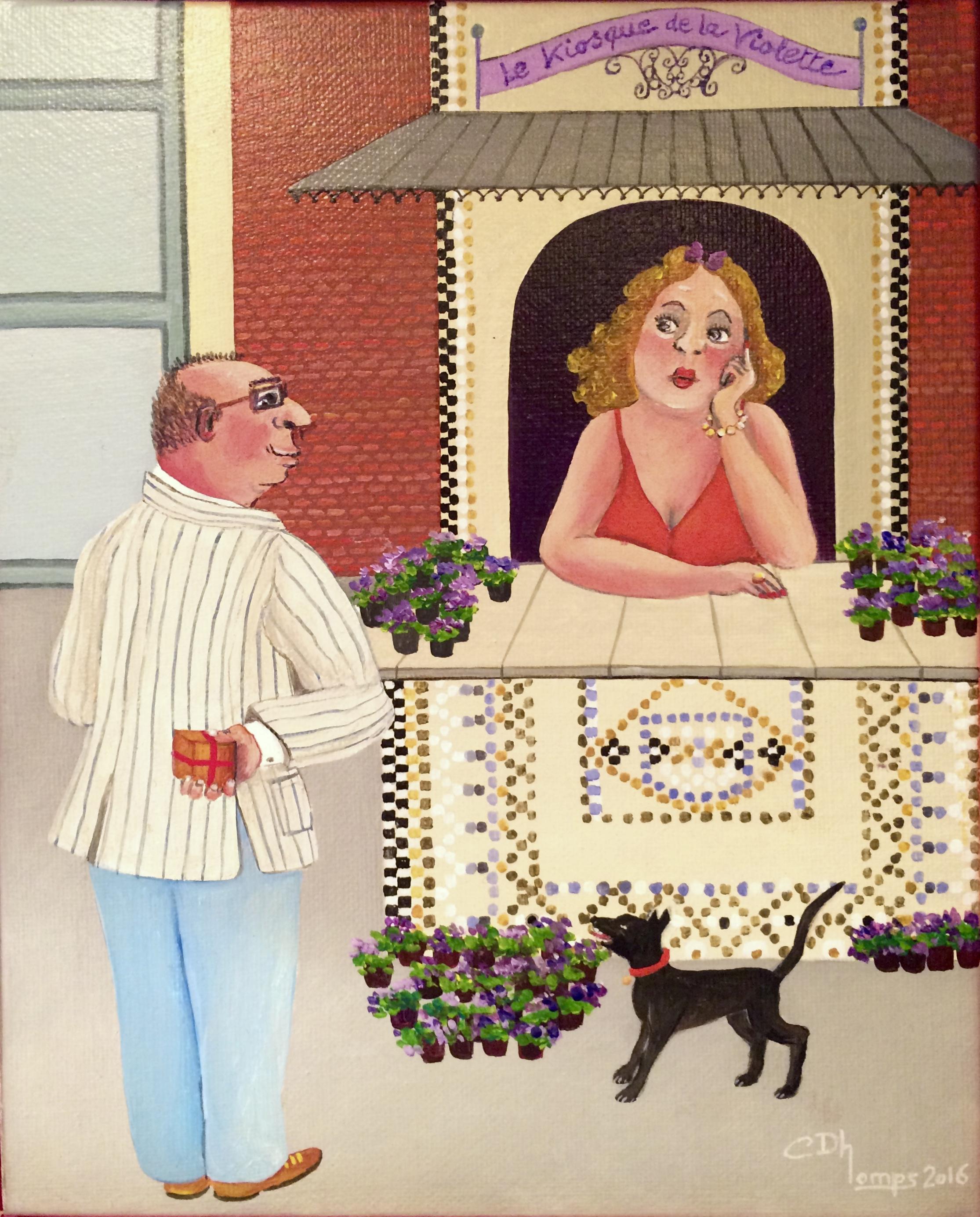 Le kiosque de la violette