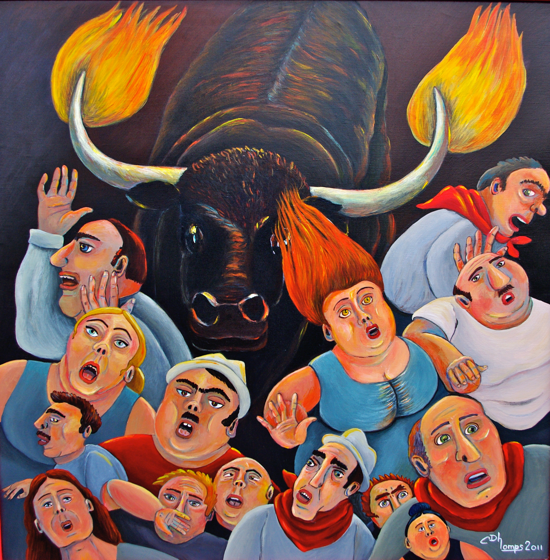 Toro de fuego - 12