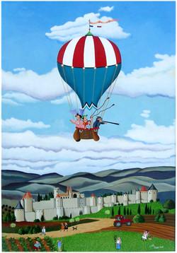 On verra les tours de Carcassonne...