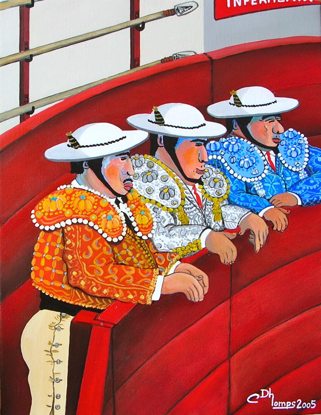 Trois picadors