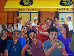 Chez Tonton by night