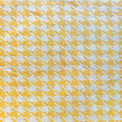 Yellow Houndstooth-Limited