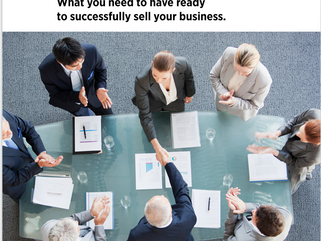 Exclusive E-Guide/Book                     Selling your Business: