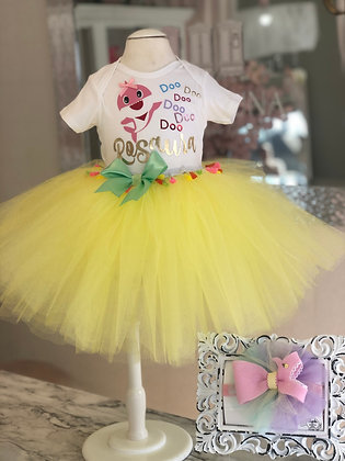 Custom Tee and tutu Set
