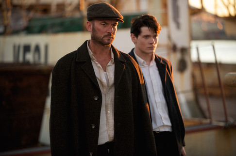 Mark Womack and Jack O'Connel in The Runaway (2010)