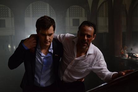 Joshua Jackson and Alexander Siddig in Inescapable (2012) 2