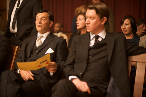 Keith Allen and Grant Swanby in The Runaway (2010)