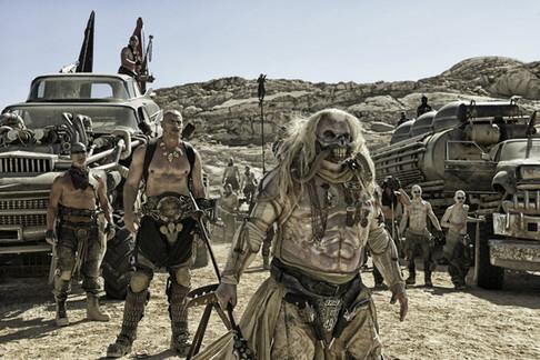 Hugh Keays-Byrne, Nathan Jones, and Jon Iles in Mad Max - Fury Road (2015)