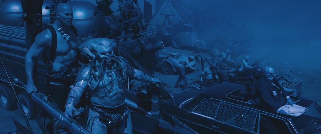 Hugh Keays-Byrne, John Howard, and Nathan Jones in Mad Max - Fury Road (2015)