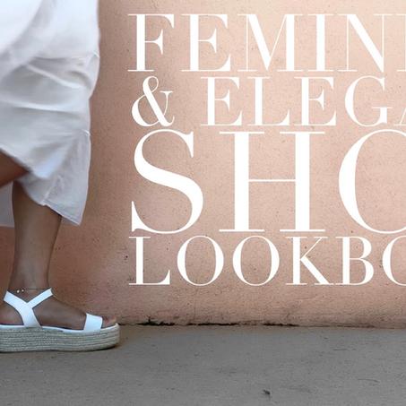 Feminine & Elegant Shoe Lookbook