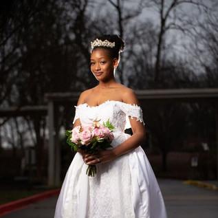 Caribbean Inspired Wedding dress
