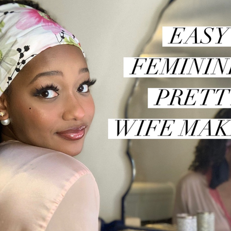 Wife Wednesday: Quick & Easy Lazy Day Makeup!