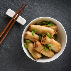 Beansprout Spring Rolls