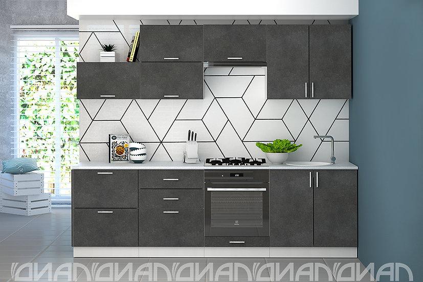 "Кухня ""Эко"" Бетон 2,6 м"