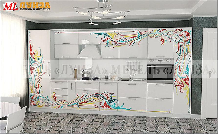 Кухонный гарнитур Ф-49 (4,0 м)