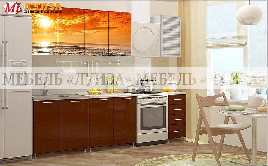Кухонный гарнитур Ф-46 (2,0 м)