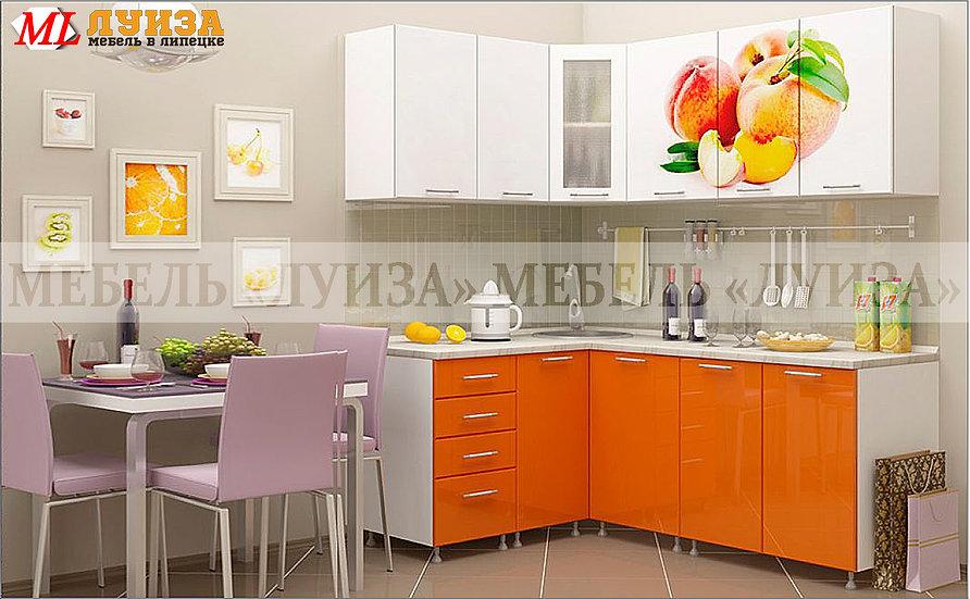 Кухонный гарнитур Ф-42 (1,4*1,9 м)