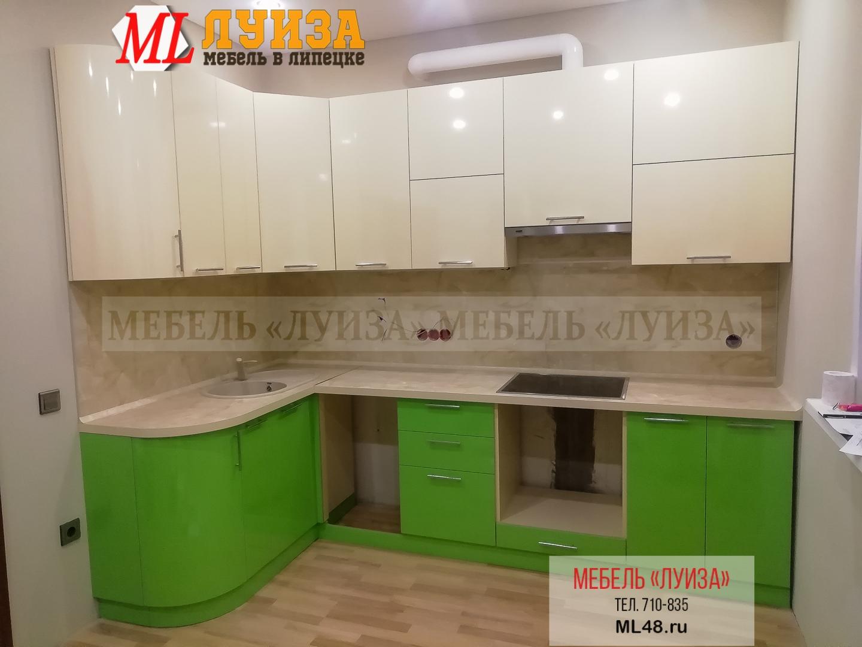Угловой кухонный гарнитур МДФ